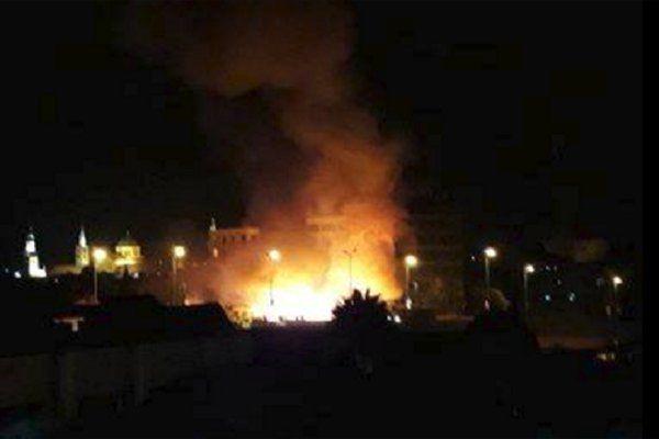 آتش سوزی کارگاه تولیدی تخته و سه لای در آرپا درسی تبریز اطفا شد