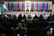 نشست رسانهای فیلم مسخره باز برگزار شد / چهار میلیارد هزینه برای یک تئاتر سینمایی