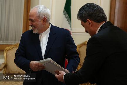 دیدارهای امروز ظریف - ۳ بهمن ۱۳۹۷/محمدجواد ظریف وزیر امور خارجه