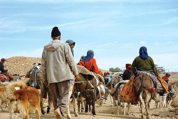 رودان میزبان عشایر کوچ روی استان کرمان