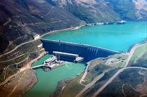 حجم آب مخازن سدهای کشور 41 درصد است