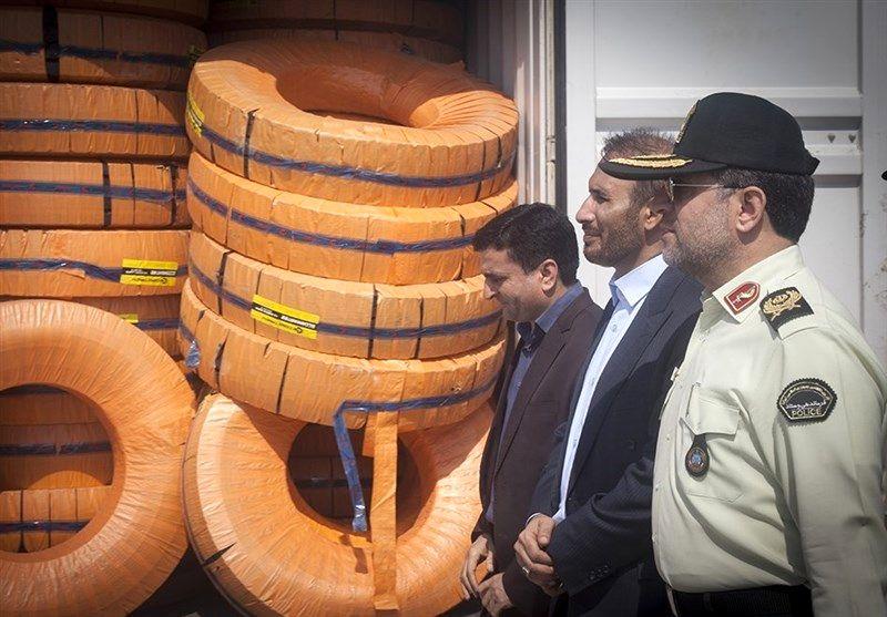 کشف محموله 4 میلیاردی لاستیکهای قاچاق  در سمیرم