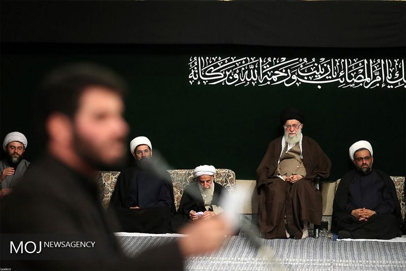 مراسم عزاداری اربعین حسینی با حضور رهبر معظم انقلاب آغاز شد