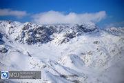 پیش بینی بارش برف از روز دوشنبه در ارتفاعات البرز مرکزی