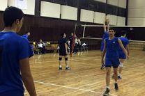 بازگشت تیم ملی والیبال نوجوانان به تهران