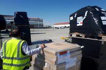 تحویل دومین محموله کمک های فرانسه برای سیل زدگان به هلال احمر