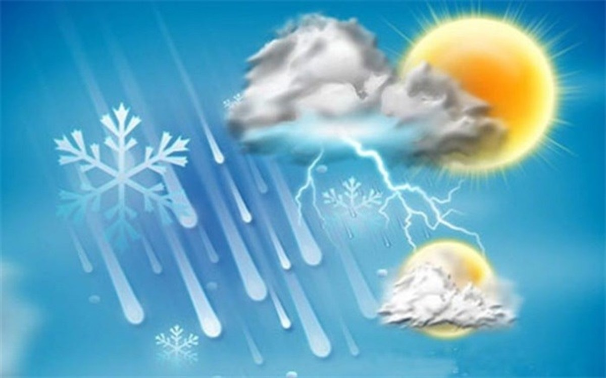 بیشتر نقاط کشور برفی و بارانی می شود