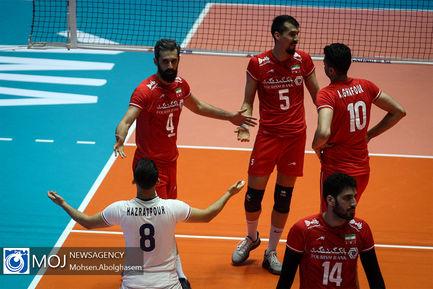 دیدار تیم های ملی والیبال ایران و استرالیا