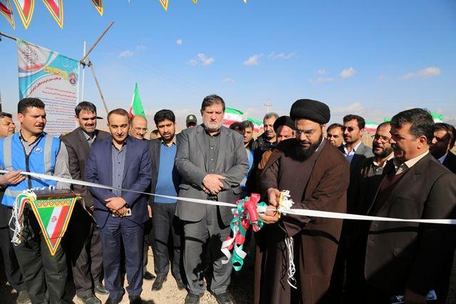 ایستگاه پمپاژ کمکی شماره 2 اردستان و چاه جدید در زواره افتتاح شد
