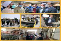 بازدید حجت الاسلام و المسلمین نقدعلی از طرح  تصفیه خانه فاضلاب نیروگاه اصفهان