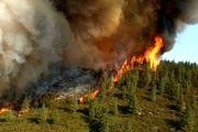 تلاش بیش از یک هزار و ۳۰۰ آتش نشان آمریکایی برای مهار آتش سوزی