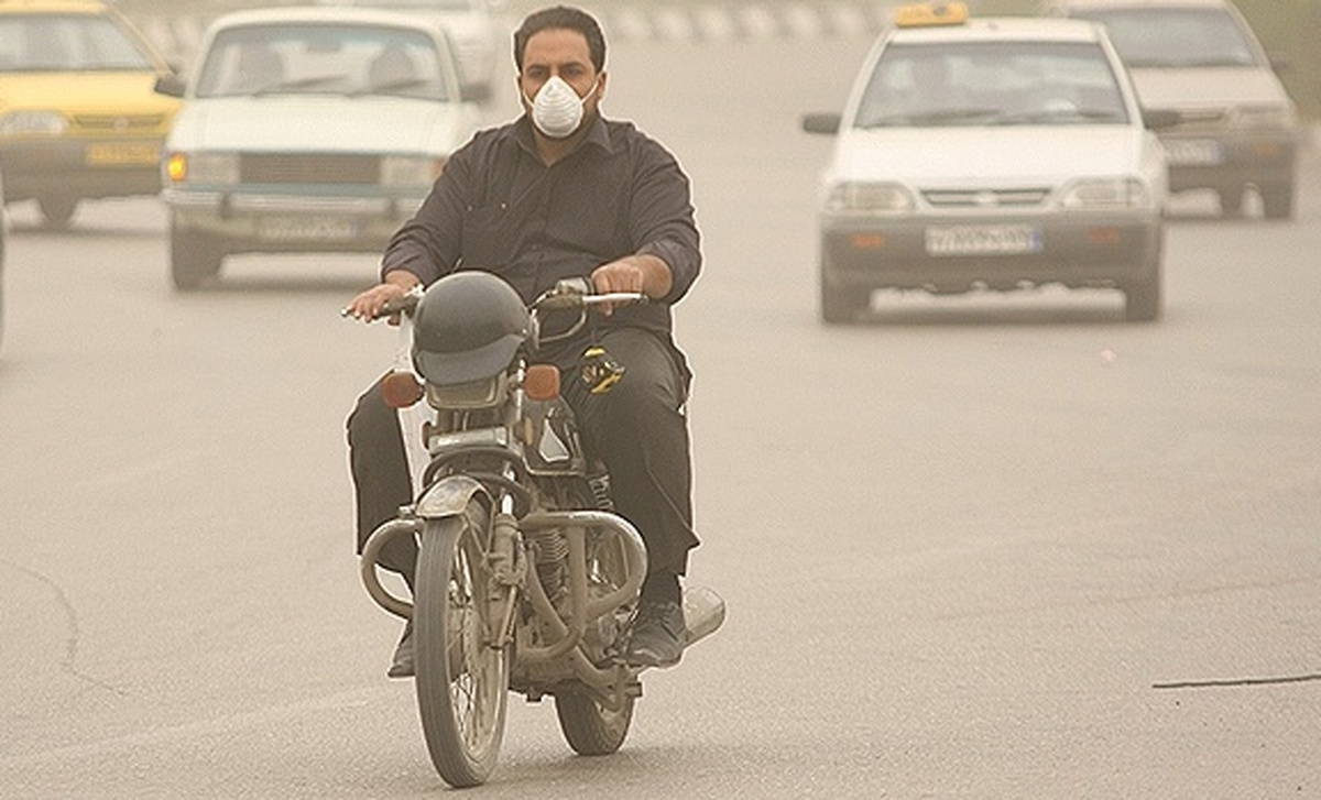 تداوم وضعیت قرمز کیفیت هوا در بندرعباس برای چهارمین روز متوالی