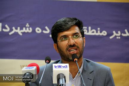 نشست خبری شهردار منطقه 14 شهرداری اصفهان
