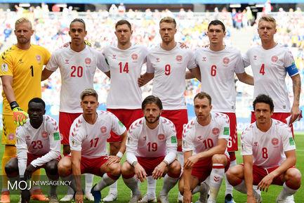 دیدار تیم های استرالیا و دانمارک