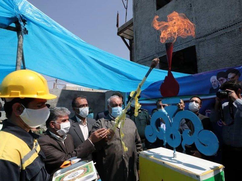 طرح گازرسانی به 4 روستا در شهرستان سرپلذهاب افتتاح شد