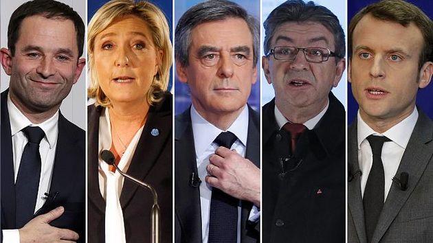 مکرون بخت نخست انتخابات ریاست جمهوری فرانسه