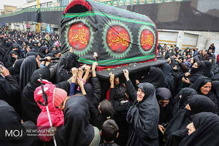 اجتماع بزرگ فاطمیون جنوب تهران