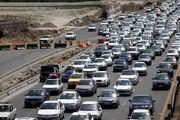 ترافیک پرحجم در محورهای مواصلاتی در استان اصفهان