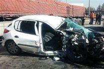 واژگونی خودروی پژو در گلستان 2 کشته بر جای گذاشت
