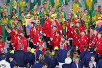 ۸ لباس برتر کاروانهای افتتاحیه المپیک بدون حضور ایران