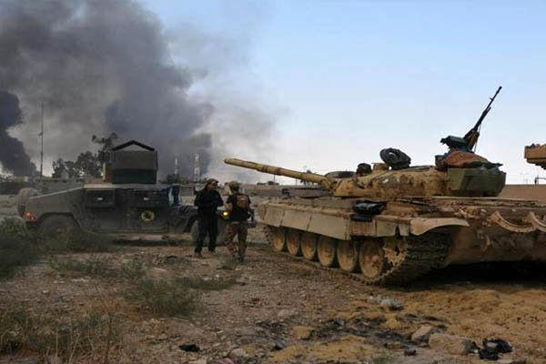 درگیری های شدید در منطقه وادی حجر/پیشروی چشمگیر در شمال غرب موصل