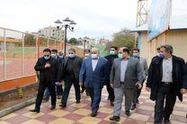 روند اجرایی پروژههای عمرانی ورزش کرمانشاه وضعیت مطلوبی دارد