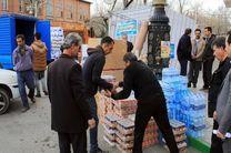 ارسال کمک های میلیاردی مردم مهریز در سه مرحله به مناطق سیل زده