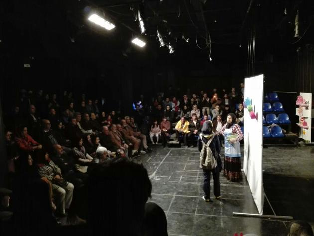 آغاز بکار پنجمین جشنواره منطقهای معلولین زاگرس با اجرای نمایش قلمبهها