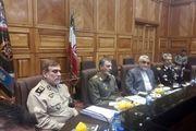 اعضای کمیسیون امنیت ملی مجلس با فرمانده کل ارتش دیدار کردند