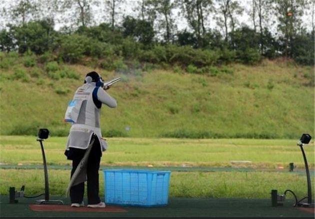 جهاندار قهرمان مسابقات آزاد تراپ بانوان شد