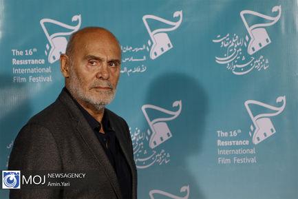 اختتامیه شانزدهمین جشنواره بین المللی فیلم مقاومت-جمشید آریا