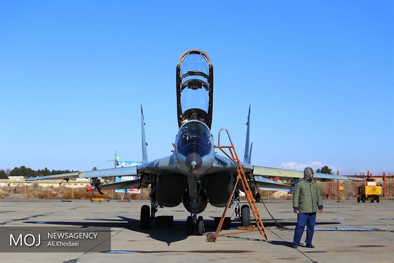 آغاز دومین روز رزمایش فدائیان حریم ولایت نیروی هوایی ارتش