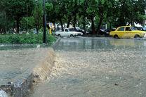 آبگرفتگی 8 واحد مسکونی و تخریب یکخانه در پی بارشهای کرمانشاه