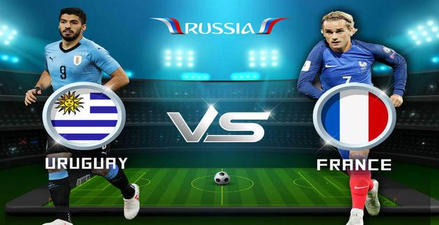 ترکیب دو تیم ملی فرانسه و اوروگوئه اعلام شد