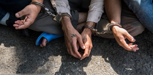 سارقان کابلهای برق در شرق تهران دستگیر شدند