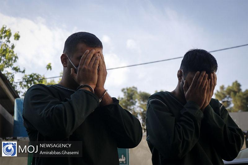 دستگیری مسافرکش نماها در البرز