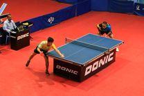 نتایج نمایندگان ایران در مسابقات تنیس روی میز اسلوونی