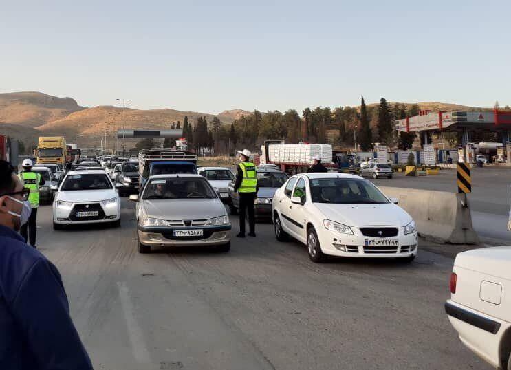 کاهش 61 درصدی ورود خودرو به استان اصفهان