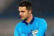 حیدری برای قضاوت در بازی های انتخابی جام جهانی انتخاب شد