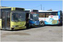 اتوبوس های ایویکو فرسوده از ناوگان اتوبوسرانی قم خارج می شود