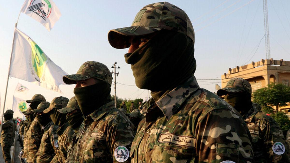 انهدام مواضع بقایای داعش در عراق توسط نیروهای «حشد شعبی»