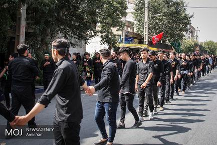 مراسم عزاداری عاشورای حسینی در محله فیروز بهرام