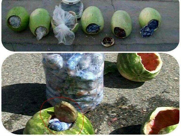 کشف 60 کیلوگرم تریاک از بار هندوانه / دستگیری 2 سوداگر مرگ