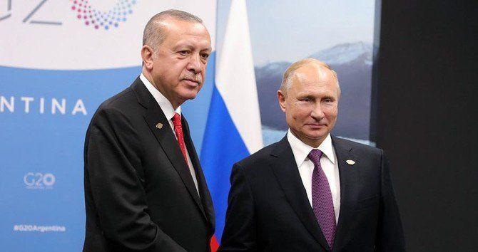 گفتگوی پوتین و اردوغان در مورد سوریه