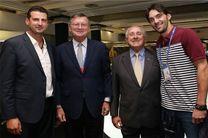 ژیبا رئیس کمیته بازیکنان فدراسیون جهانی والیبال شد