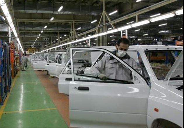 هزینه تامین مالی تولید هر خودرو در ایران ۲۰ درصد است