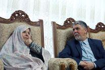 دیدار وزیر فرهنگ و ارشاد اسلامی با سیمیندخت وحیدی