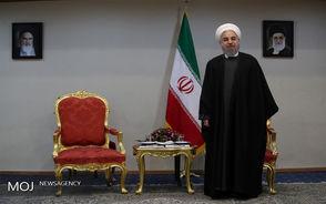 دیدار رییس جمهور با رؤسای مجلس کشورهای فلسطین،سوریه،اوگاندا،اردن،لبنان و مالزی
