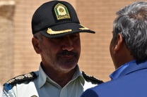 حمایت از کالای ایرانی ضامن امنیت است/مبنای زندگی عوامل پلیس در پلدختر استفاده از کالای ایرانی است