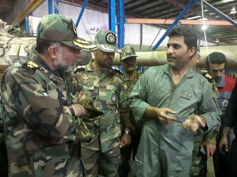 نیروی زمینی ارتش به رشد مطلوبی در صنعت قطعه سازی دست یافته است
